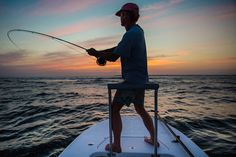 Tarpon action on the
