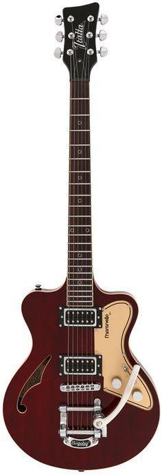 Italia Guitars Maranello '61 See Thru Burgundy