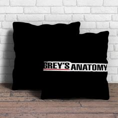 Grey's Anatomy Pillow | Aneend