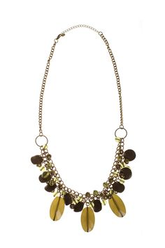Dressing Your Truth - Type 3 Olive Paradise Necklace