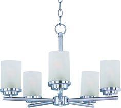 Maxim Lighting 10205FTSN Corona 5-Light Chandelier