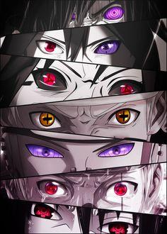 Anime Naruto, Naruto Sharingan, Naruto Uzumaki Shippuden, Fan Art Naruto, Madara Susanoo, Naruto Eyes, Anime Akatsuki, Sharingan Eyes, Sasuke Uchiha Eyes