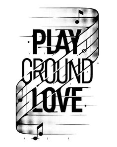 Playground love - #andre #beato #typo #portuguese #graphic #designer #illustrator