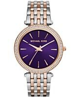 Michael Kors Women's Darci Two-Tone Stainless Steel Bracelet Watch 39mm MK3353
