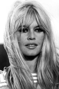Iconic Bangs Throughout History .   #BrigitteBardot #Hairstyles #Hair