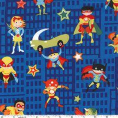 Super Heroes in Flannel