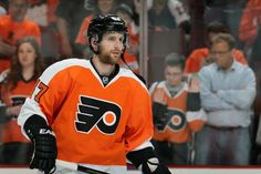 Don't know if Homer was too smart in giving him a 6 year contract. Philadelphia Flyers, Nhl, Hockey, Jackets, Down Jackets, Field Hockey, Jacket, Ice Hockey