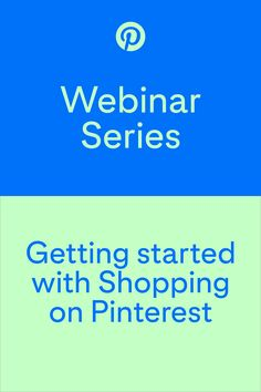 Find out how to use Pinterest Shopping tools for your business, to inspire a new audience with your content and to get your Pins in front of new potential customers.