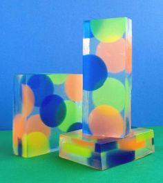 DIY soap dots from Soapylove