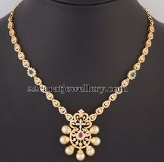 Mesmerizing Diamond Set for All Ages | Jewellery Designs