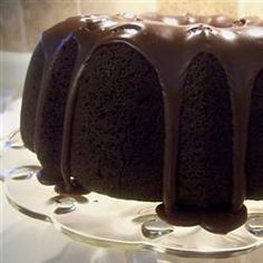 """Made this tonight with """"Hershey's Best Chocolate Frosting"""" -- AMAZING!!! -- Darn Good Chocolate Cake Recipe from Cake Mix Doctor"""