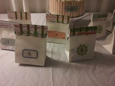 Gift Bags for the Birthday party!