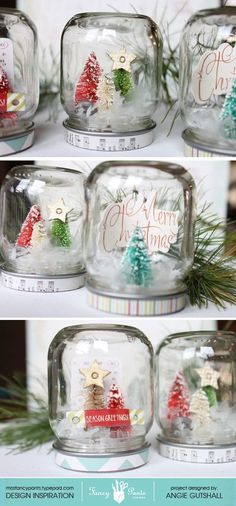 Christmas Jars #jars #diy                                                                                                                                                                                 More