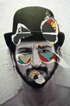 photo illustration collage portraits - Google Search