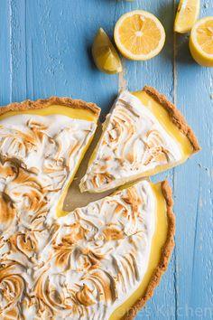 My blog is 1 year and lemon meringue pie - Simone's Kitchen