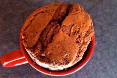 chocolate souffle in microwave ready in 5 minutes