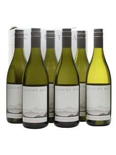 A pack of six bottles of New Zealand's most famous wine export, Cloudy Bay Sauvignon Blanc.  Made using both their own vineyards and trusted other growers in the Wairau Valley, this is classic 'goo...