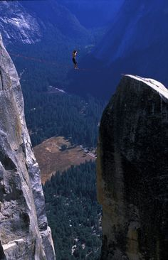 ~ tightrope walking ~ No way!!