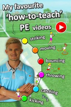 Check out these instructional 'how-to-teach' PE videos, great for grade sport lessons. Teaching PE has never been easier! Physical Education Lesson Plans, Pe Lesson Plans, Elementary Physical Education, Elementary Pe, Health And Physical Education, Teacher Lesson Plans, Science Education, Education Logo, Baby Education