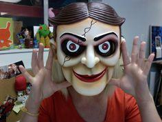 Ventriloquist Dummy Mask