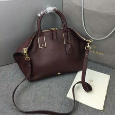 2015 Mulberry Small Alice Zipped Bag in Oxblood Small Grain Leather