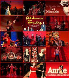 Broadway - Red