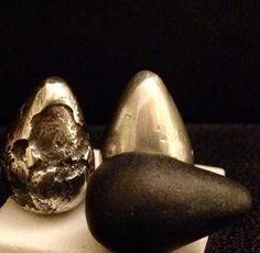 Silver tear drops - made by Tracy Dryden-Jones