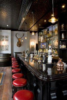 The Jugged Hare Pub & Restaurant Pub Design, Restaurant Design, Restaurant Bar, Modern Restaurant, Pub Bar, Cafe Bar, Dark Interiors, Shop Interiors, Aberdeen