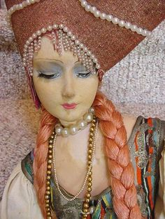 French Rosalinde Boudoir Doll