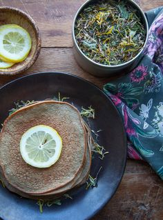 Naturally Sweet Coconut Pancakes from SugarDetoxMe