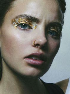 "Kristine Froseth in ""Metal Rebel"" photographed by Charlotte Wales for Nylon, December 2012"