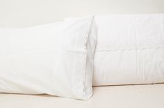 Kids to Kids CASA crisp white embroidery bedlinen - mother and home essentials