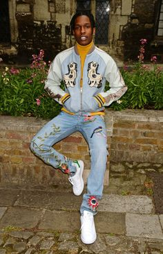 A$AP Rocky Will Be Singlehandedly Responsible For The Resurgence Of Embroidered Jeans - MTV