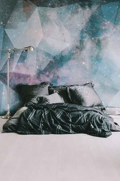 Constellation Mural - Large Wall Mural, Space Mural, Graphic Illustration…