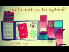 Carta Basica Scrapbook /Scrapbook Basic Card