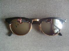 Lunettes de soleil miroir style rétro vintage 50s 60s 70s hippie goa accessoire