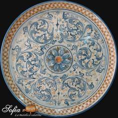 Piatti in ceramica di caltagirone | Ceramiche di Caltagirone SOFIA®