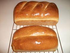 My Homemade white bread.