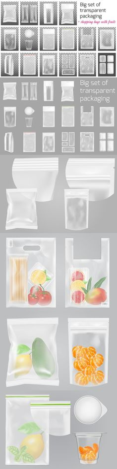 Transparent packaging
