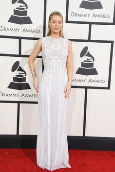 Iggy Azalea Grammy look. Could totally work for a wedding.