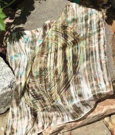 M.K silk, krepdešín 55 x 55 cm