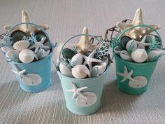 Beach Decor, Coastal Decor, Shell Ornaments, Seashell Ornament, Nautical Decor, Beach Wedding Favors, Beach Wedding Cake Topper