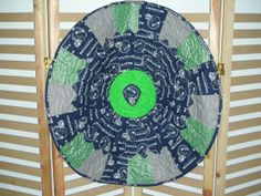 Circular table topper or wall hangingSeattle by QuiltingMyWay, $35.00