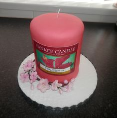 Yankee Candle Cake Images : 1000+ images about Gateaux on Pinterest Christmas cakes ...