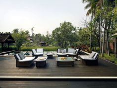 Aesthetic And Timeless Home Outdoor Furniture Design Ideas SPA Series