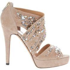 Ballin Embellished Suede Sandal - Women - All