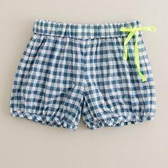 Gingham Bubble Shorts