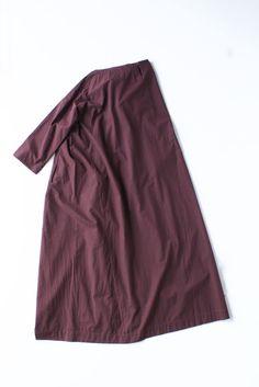 ARTS&SCIENCE Tent line dress long sleeve