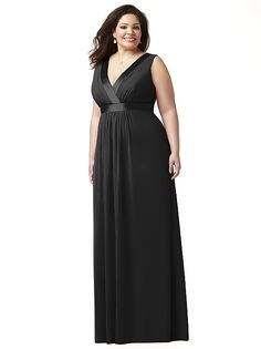 Lovelie Plus Size Bridesmaid Style 9001 http://www.dessy.com/dresses/bridesmaid/9001/?color=black&colorid=123#.UyEfL85Gb48