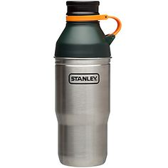 Biking Thermos - Adventure Multi-Use Bottle/Cup 32 Oz. - Green